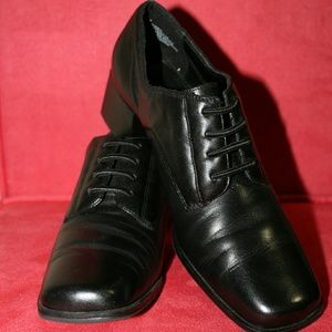 NWT $FIRM$ Partners dress black shoes